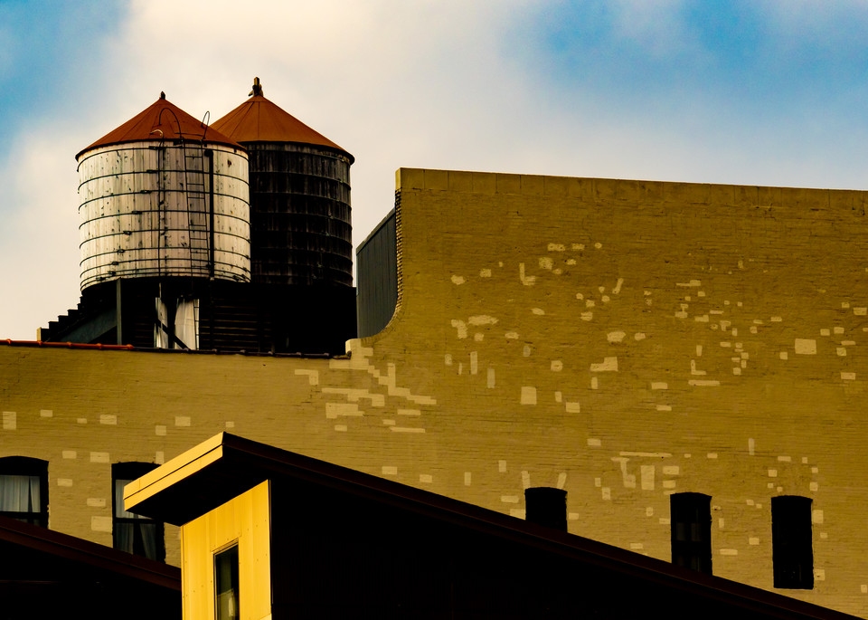 High Line Water Towers, NYC/sold by Ben Asen Photography