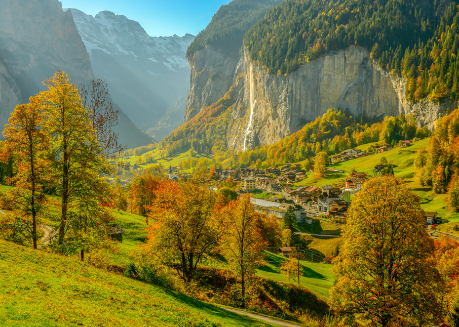 Lauterbrunnen Valley Photography Art | Craig Primas Photography