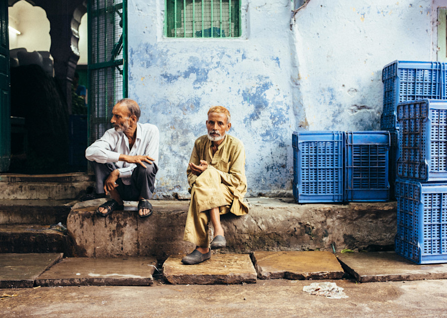 Jaipur Jade And Blue Photography Art | Kirby Trapolino Fine Art Photography
