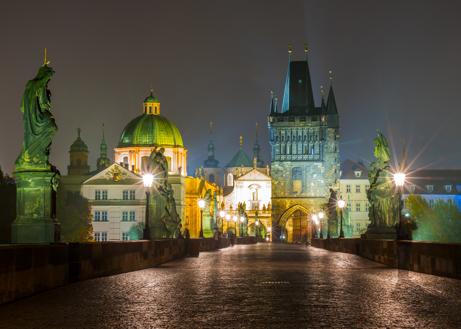 Charles Bridge Early Morning Photography Art | Craig Primas Photography