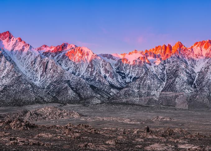 Sunrise on the Eastern Sierra 1:2