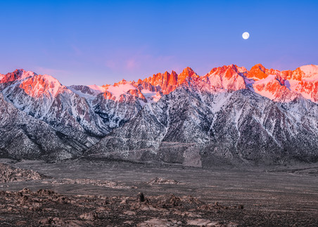 Sunrise on the Eastern Sierra 1:3