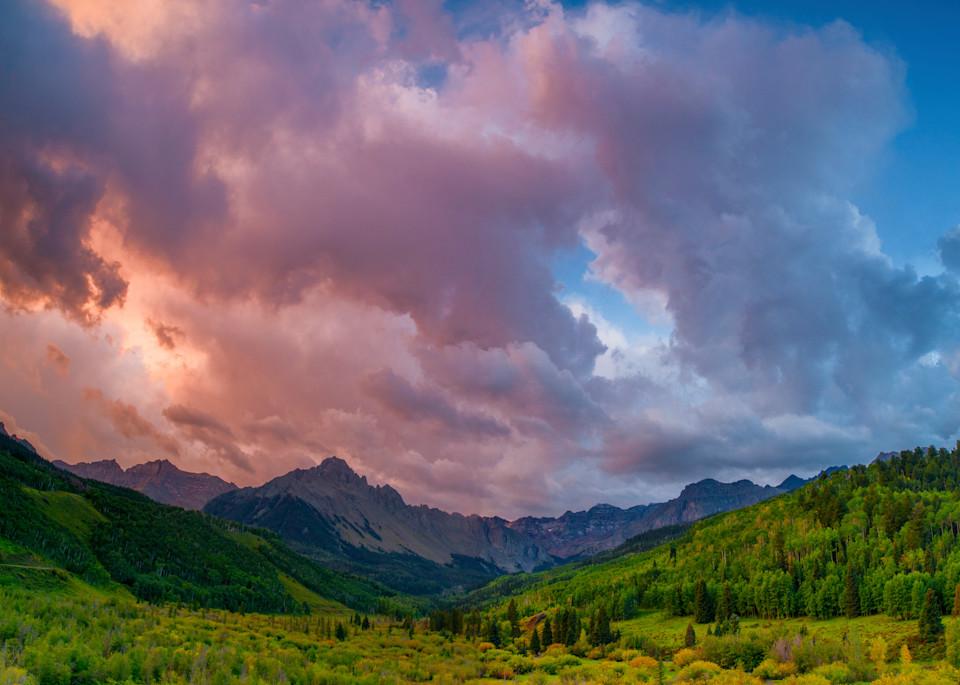 Mount Sneffels Sunset Glow Photography Art   Craig Primas Photography