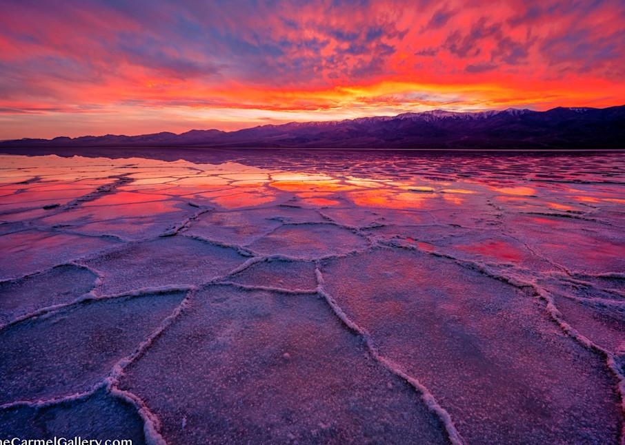 Badwater Sunset Art | The Carmel Gallery