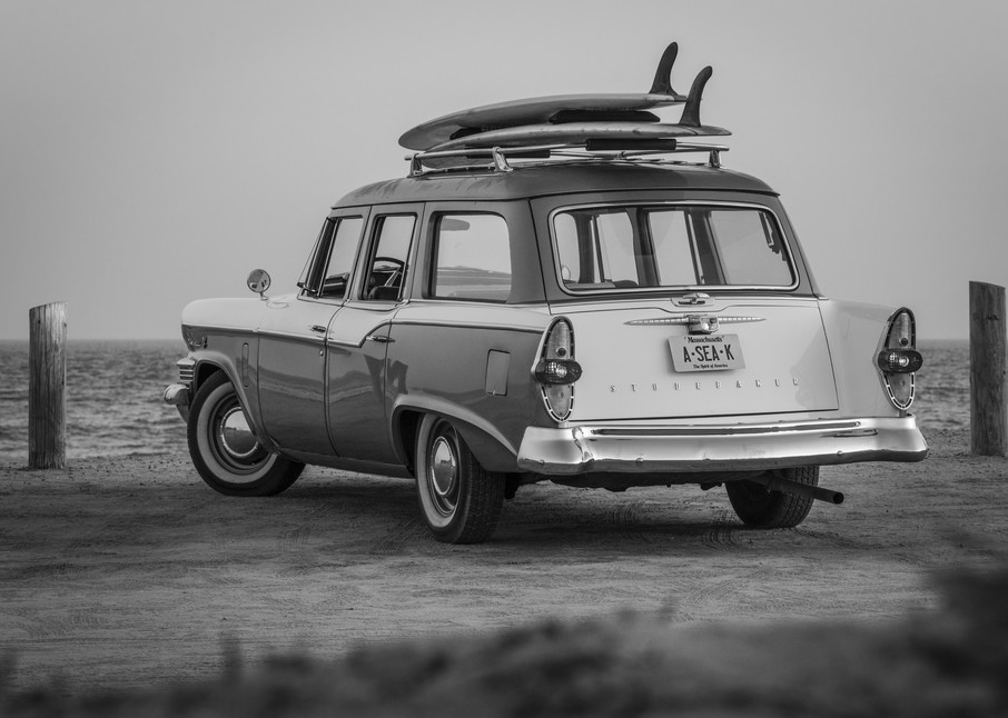 1964 Studebaker & Vintage Surfboards #1 Photography Art | Kit Noble Photography
