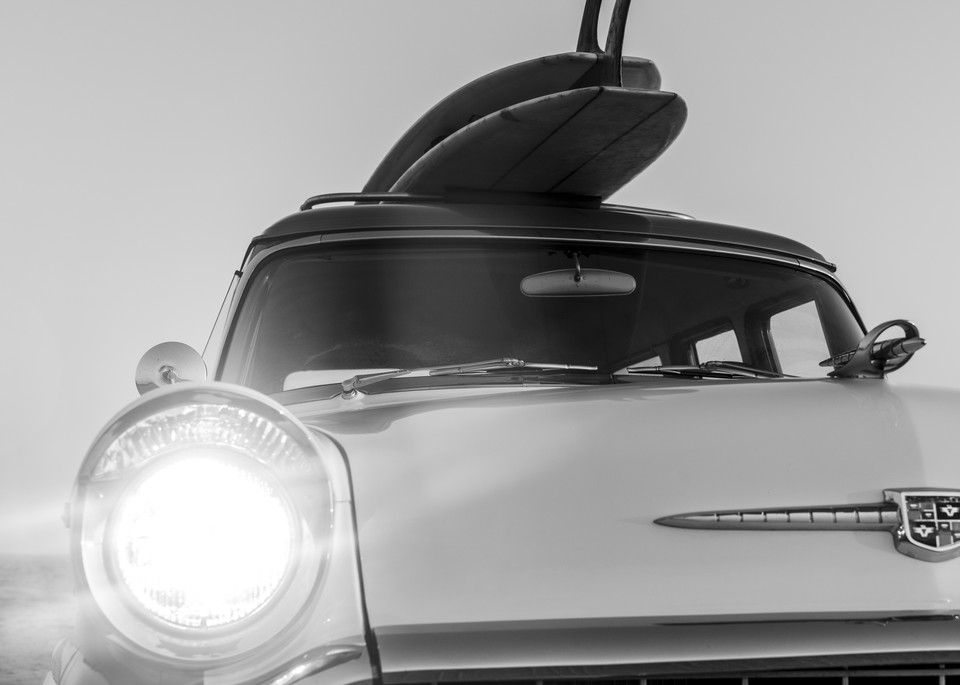1964 Studebaker & Vintage Surfboards #2 Photography Art | Kit Noble Photography