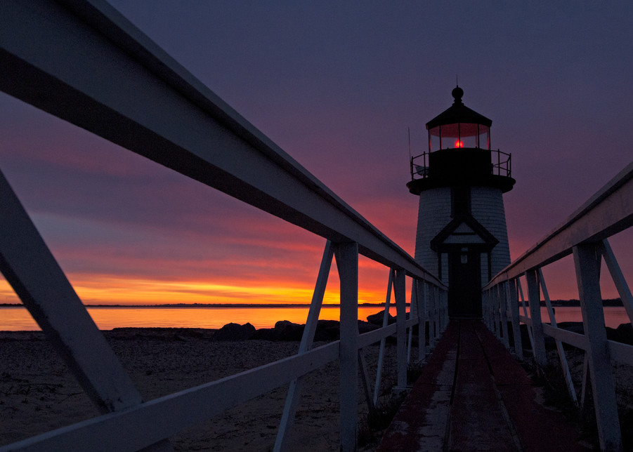 Sunrise Brant Point  Photography Art   Kit Noble Photography