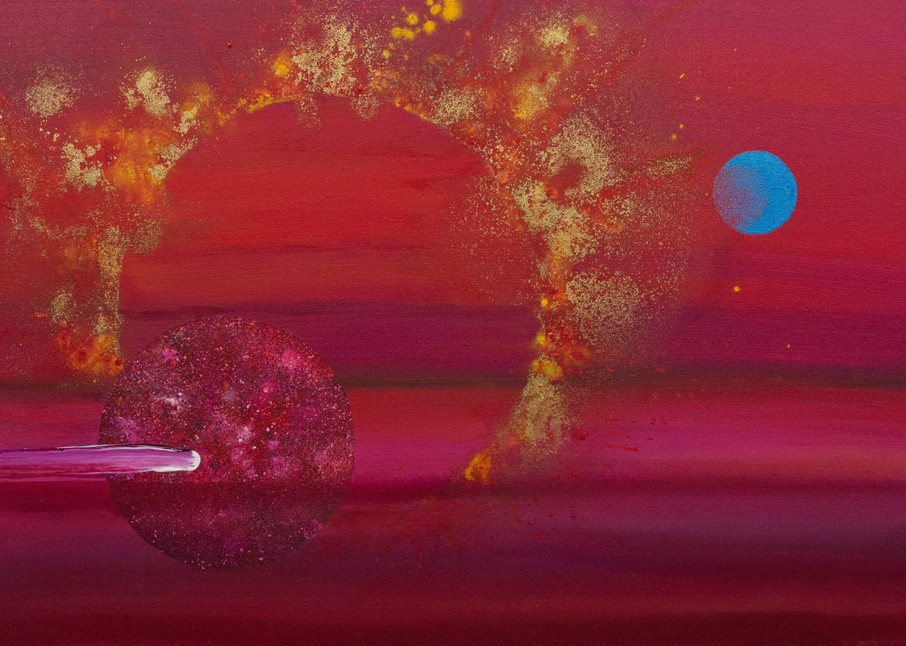 Etic Landscape #3 - Giclee reproduction of art by David Copson