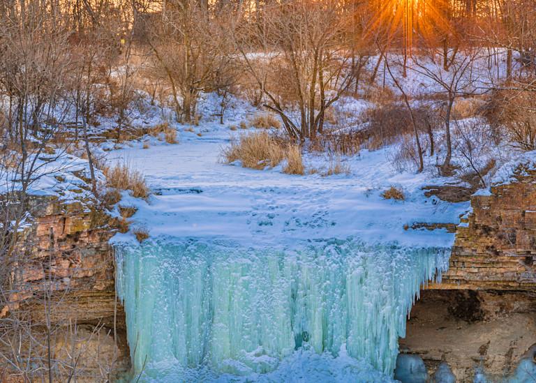 Frozen Sunrise Photography Art | brucedanz