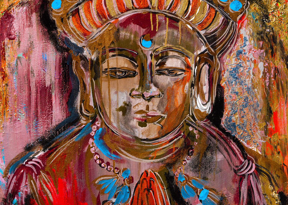 Knowledge Is Power | Spiritual Art | JD Shultz Art