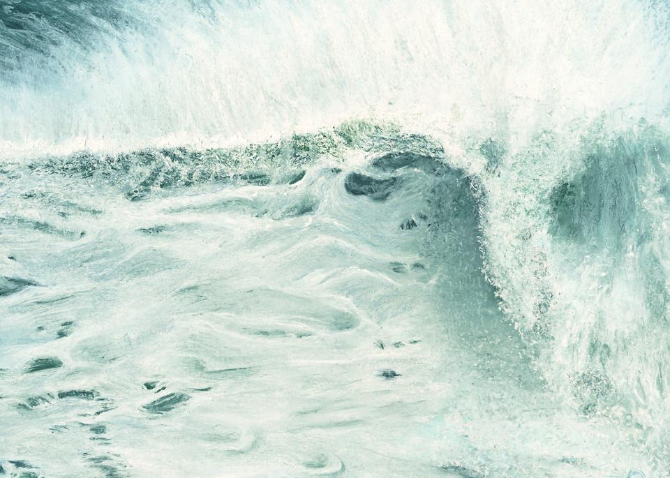 S.Gehring - Oregon Coast Wave Art - Fury