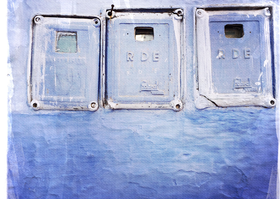 Chefchaouen Blue Walls 1 Art | photographicsart