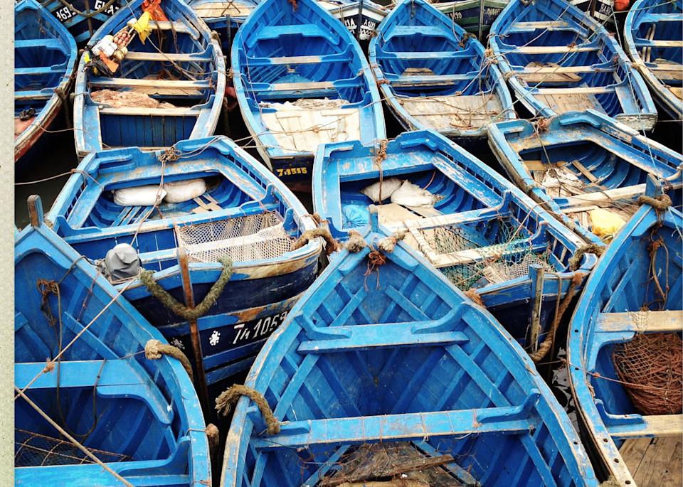Fishing Boats, Essaouira Art | photographicsart
