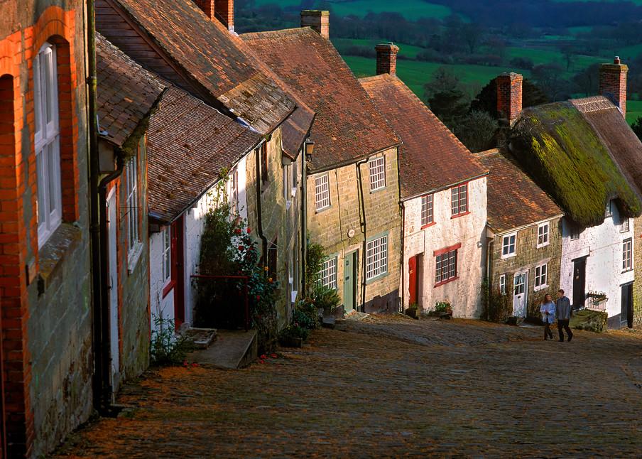 Gold's Hill, Shaftesbury, Dorset, England
