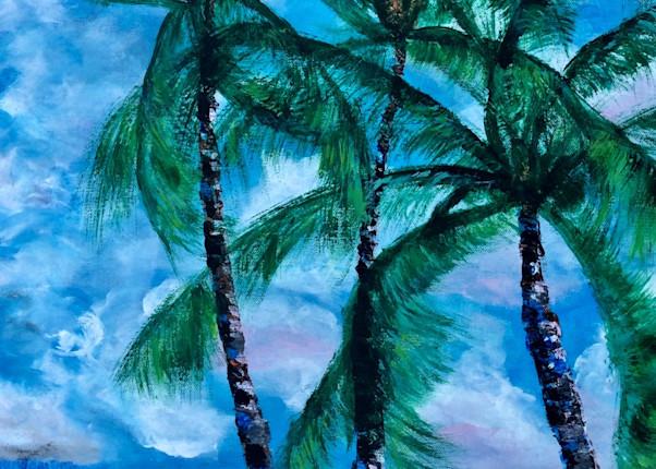 Palms In The Wind Art | House of Fey Art