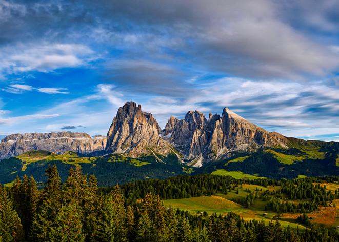 B Mountain  Panorama Horz1vev Photography Art | RaberEYES