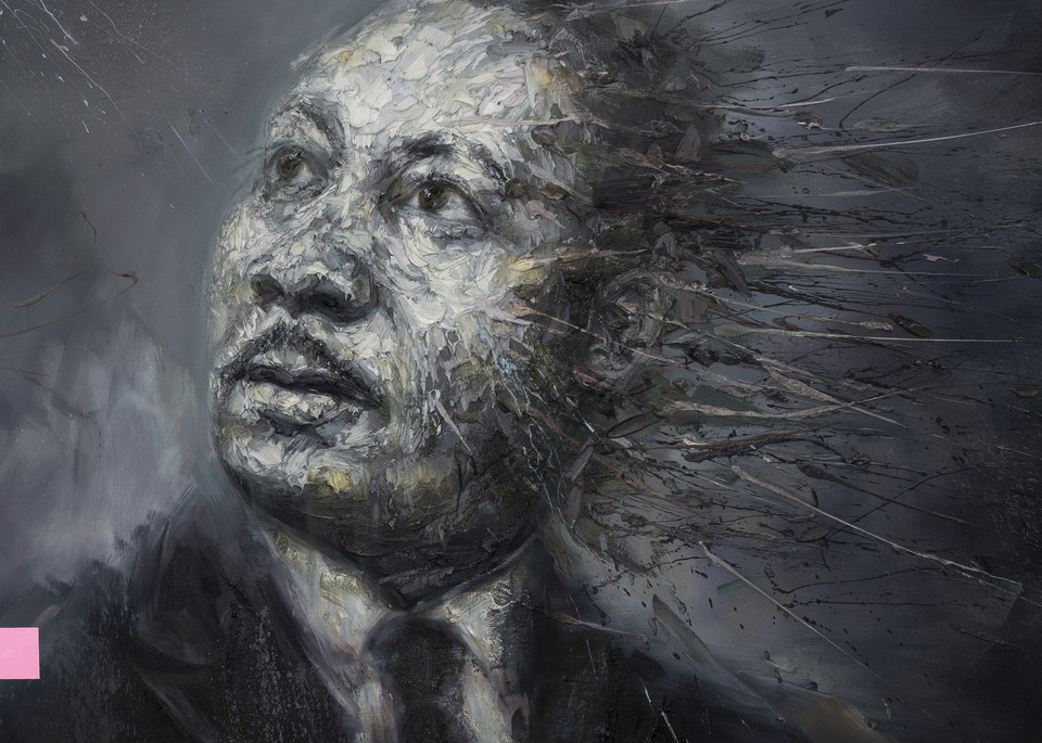 Martin Luther King Jr. Art | Mathieu Laca