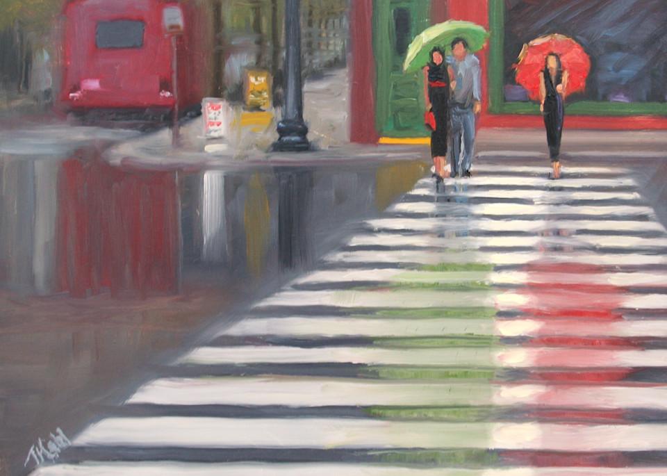 The Color Of Rain Art | Thalia Kahl