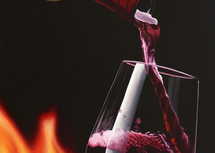 Ohh Wine Art   MMG Art Studio   Fine Art Colorado Gallery
