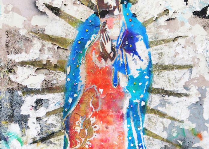 Water Color Virgin Photography Art | Galeria Mañana