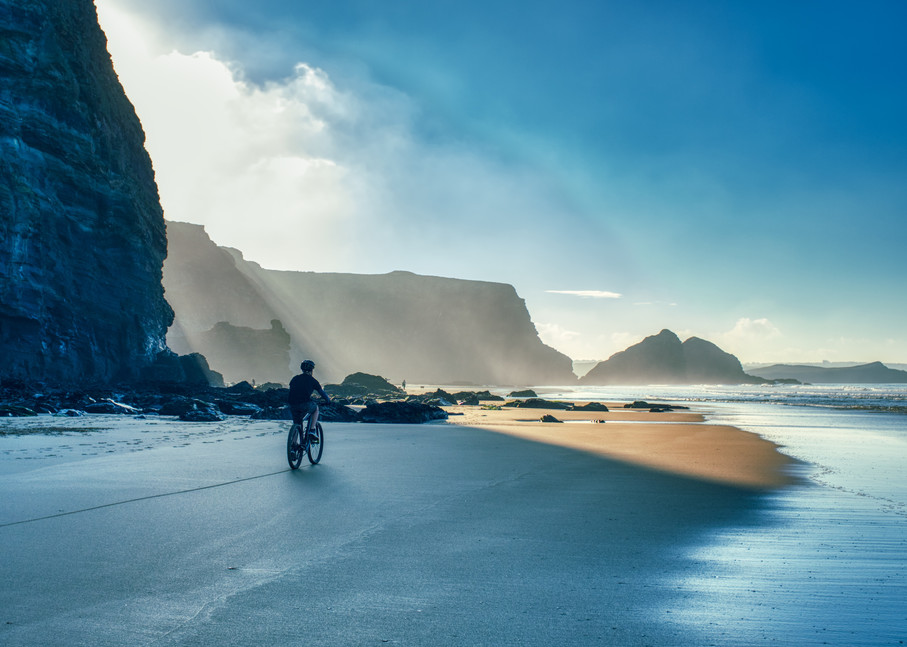 Winter Beach In Cornwall Art | Martin Geddes Photography