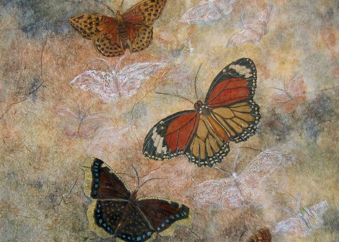 Margaret Carpenter Arnett - Butterfly Series 1 - On the Wing