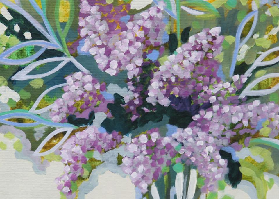 Lavender Whispers Art | Kristin Webster Art Studio