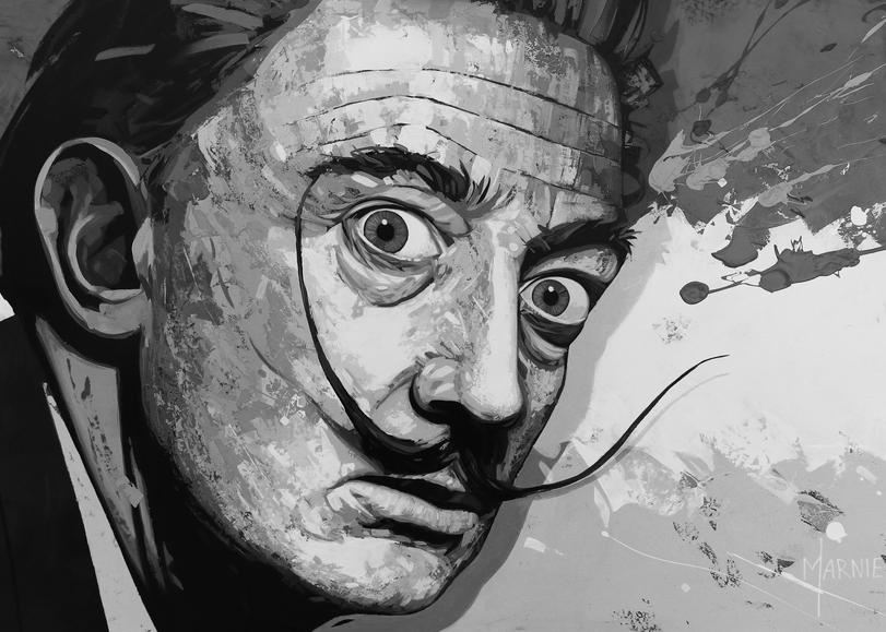 Art, painting, prints,  public figure, artist, Marnier, Salvador Domingo Felipe Jacinto Dalí i Domènech, enjoyed indulging in unusual and grandiose behavior