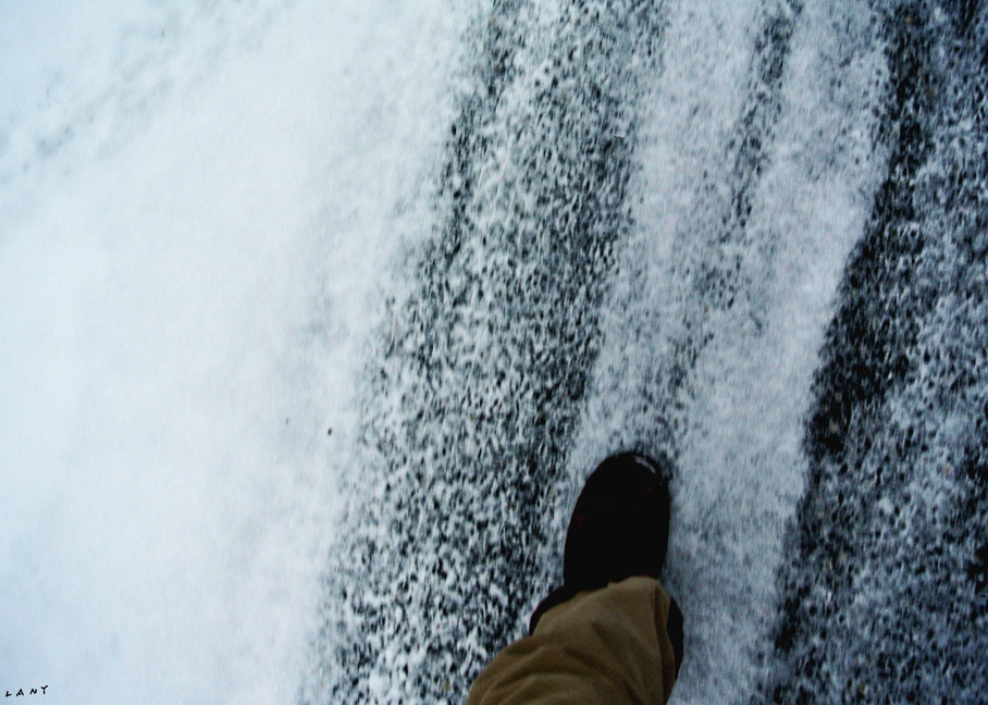 Slush Foot in Winter