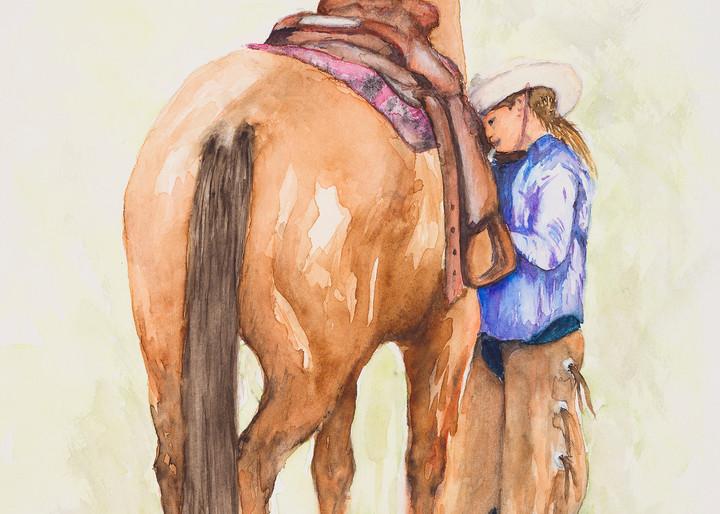 Growin Up Cowgirl Art | Debra Bruner Studio