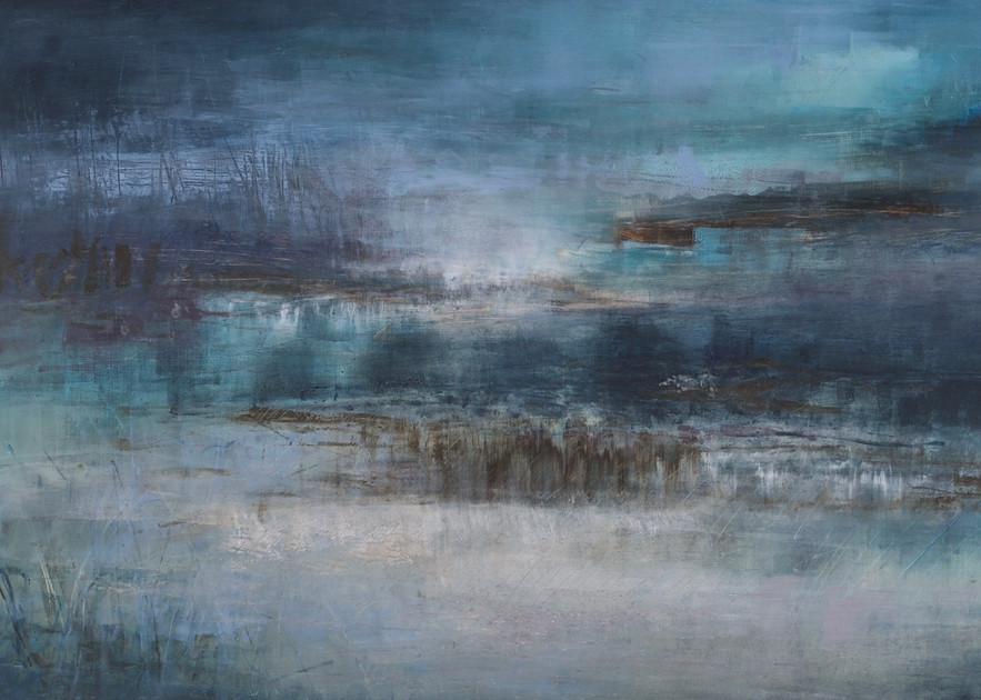 Monochrome Landscape  (Print) Art | Laurie Fields Studio