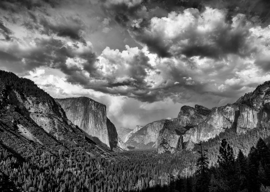 Tunnel View in Black & White | Shop Photography by Rick Berk