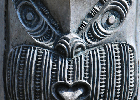 Maori Totem 3 Photography Art | Kristofer Reynolds Photography
