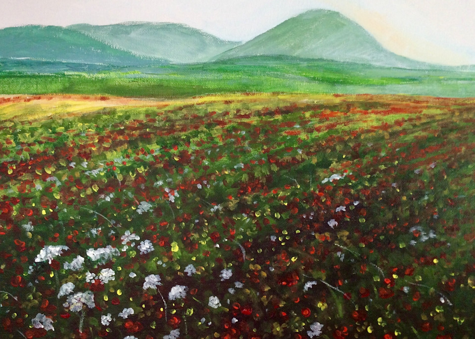 Mt Tabor and the Valley of Megiddo by Hilary J England