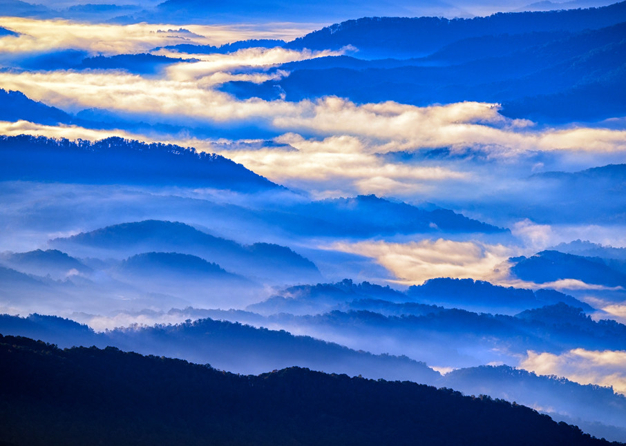 Great Smoky Mountains in the Mist | Shop Photography by Rick Berk