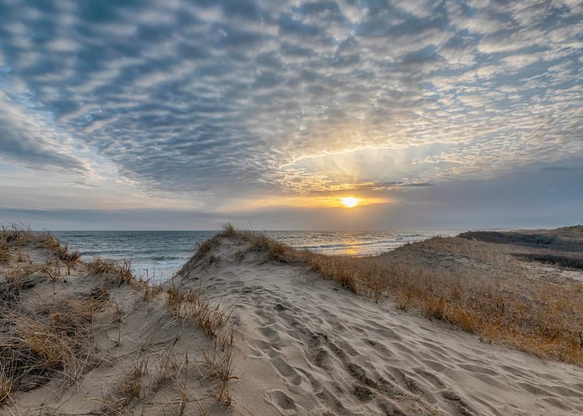 South Beach Winter Clouds 2020 Art | Michael Blanchard Inspirational Photography - Crossroads Gallery