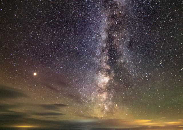 Schoodic Point Milky Way Photography Art | Monteux Gallery