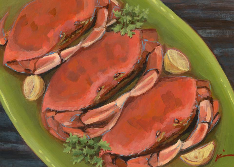 Kim Bruder - Crab Dinner