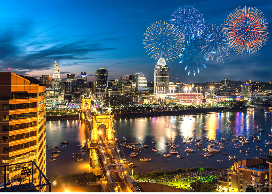 Cincinnati Fireworks Photography Art | Studio 221 Photography