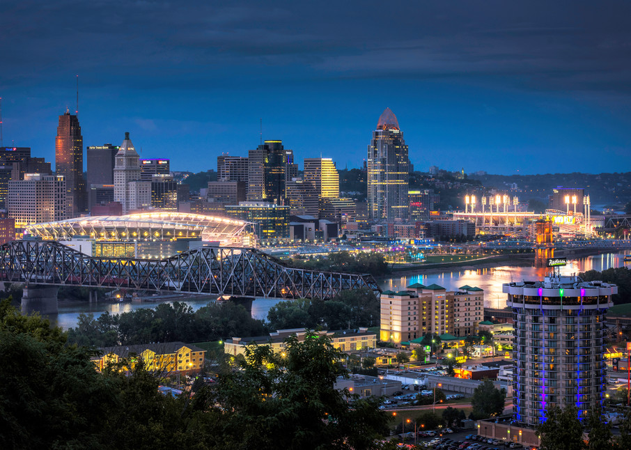 Cincinnati Stadiums Photography Art | Studio 221 Photography