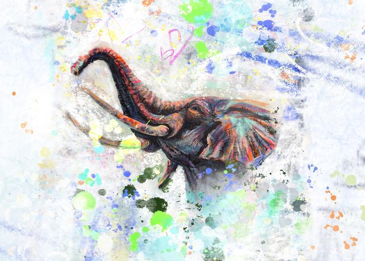 Elephant Luck Art | Kristyn Watterworth