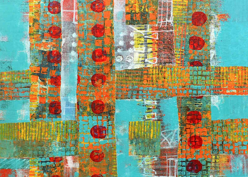 Dotted Lines – Original Abstract Painting & Prints | Cynthia Coldren Fine Art