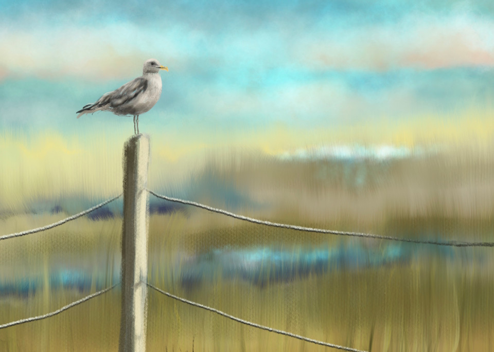 Master of his Domain, digital painting by Holly Whiting