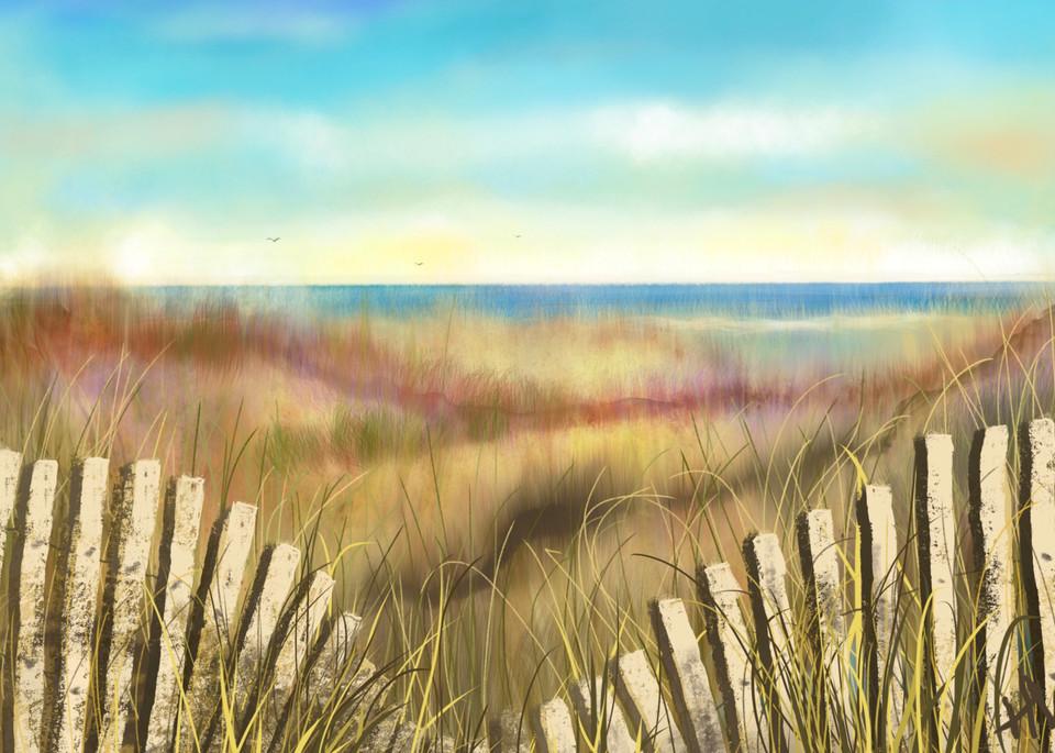 Beach Dreaming digital painting