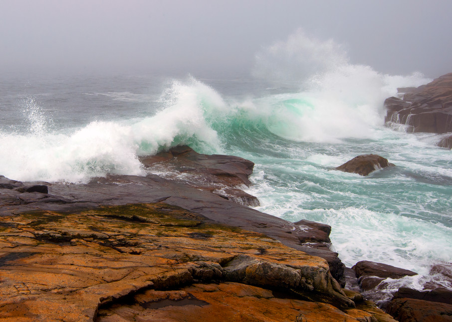 Schoodic Waves Photography Art | Monteux Gallery
