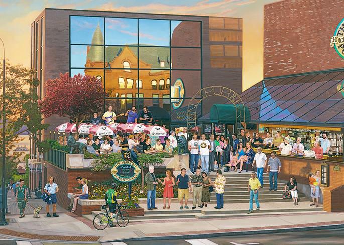 The Vermont Pub & Brewery  Art | The Huntington Studio