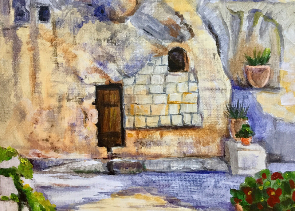 The Garden Tomb Fine Art Print by Hilary J. England