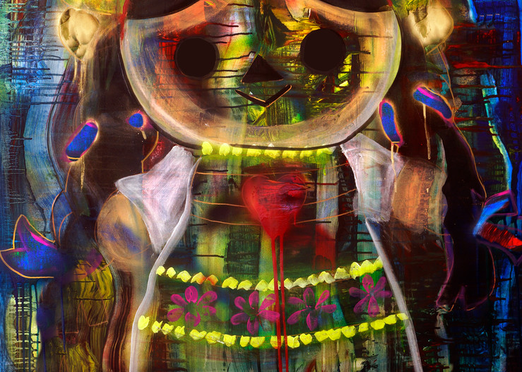 Maria Doll Art | William K. Stidham - heART Art