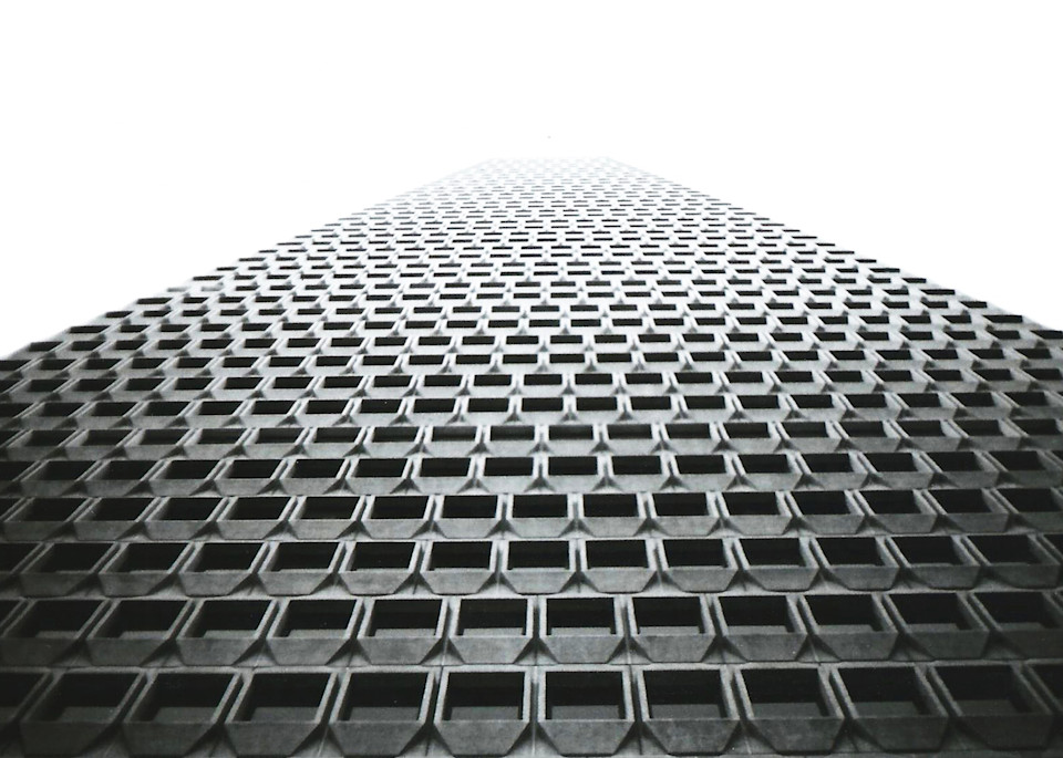 Transamerica Pyramid 3 Photography Art | David Louis Klein