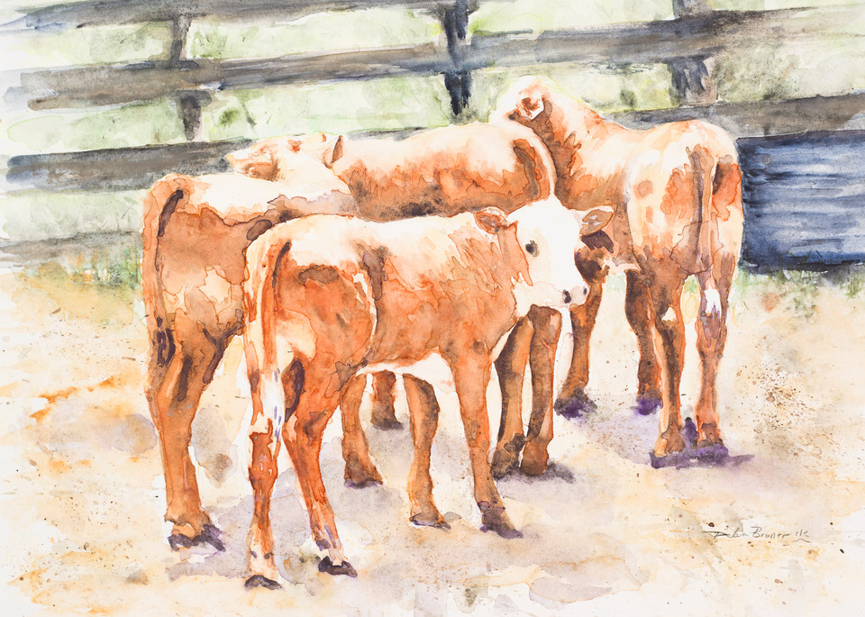 In The Sorting Pen  Art | Debra Bruner Studio